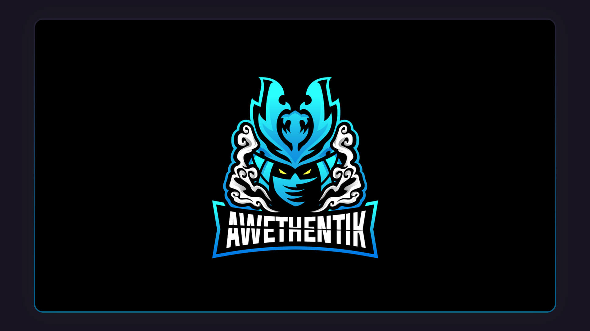 Awethentik custom stream design esports logos