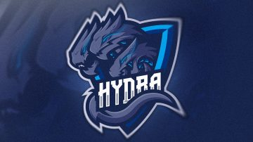 Hydra Mascot logo for sale | streamer overlays