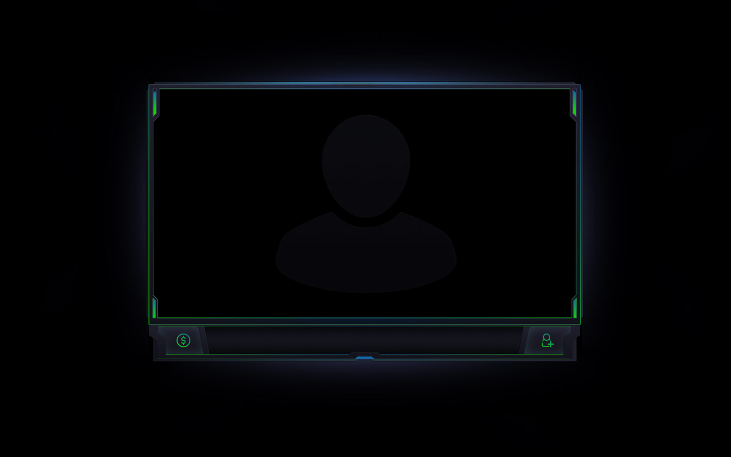 Simple webcam overlay - Streamer Overlays