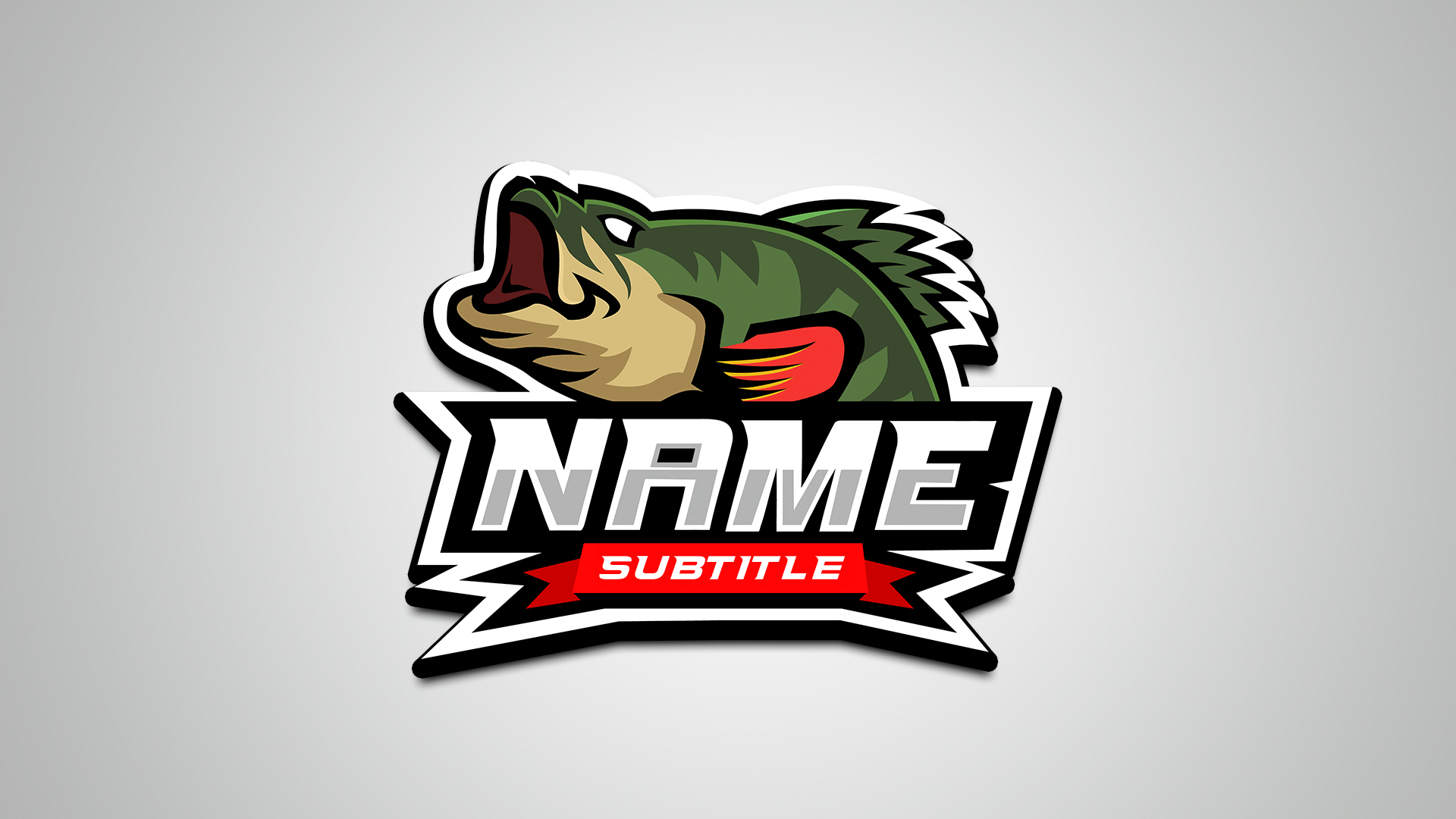 Premade esports logo on sale Streamer overlays