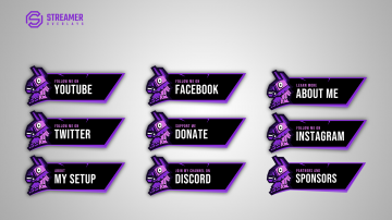 Fortnite twitch panels on sale streamer overlays