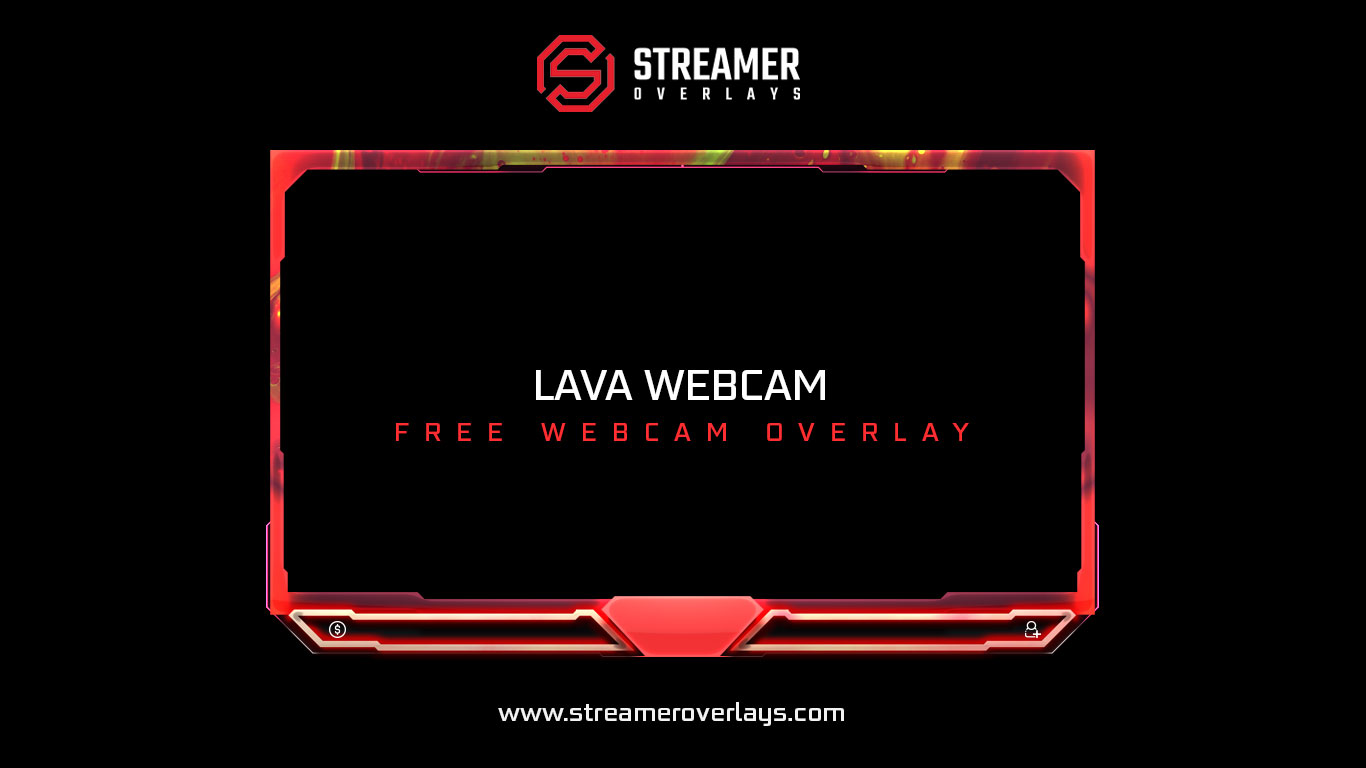 Lava webcam overlay