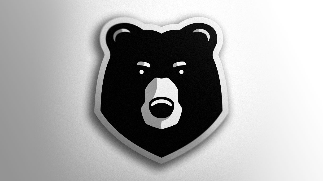 premade bear logo | Esports bear logo for sale